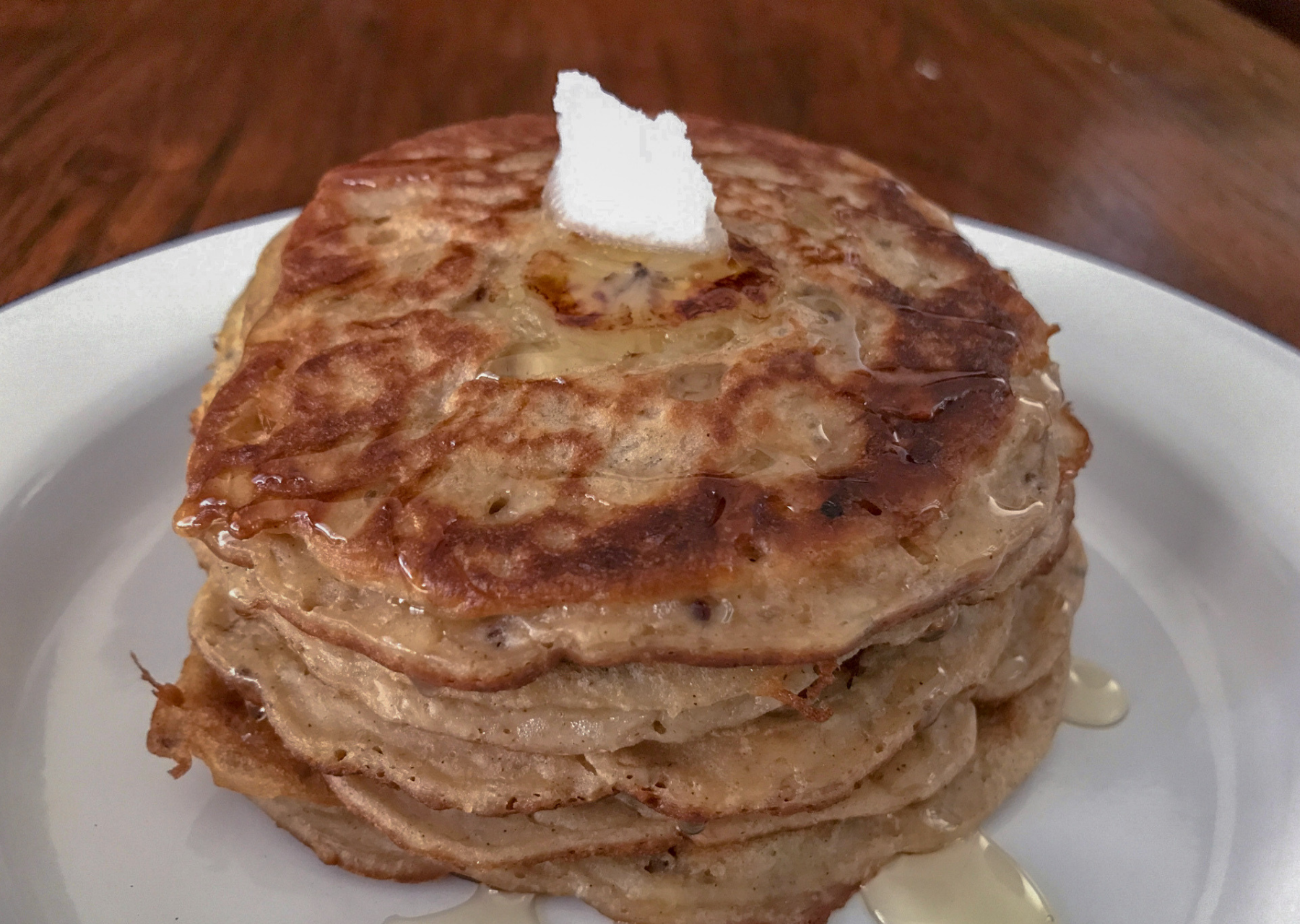Healthy Quinoa Banana Pancake Recipe