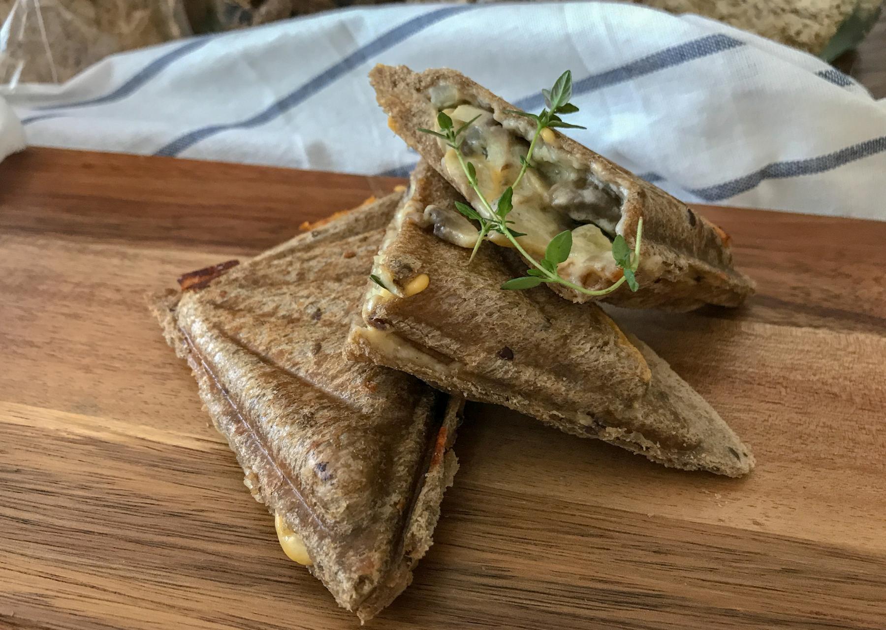 Mushroom Toasties Recipe